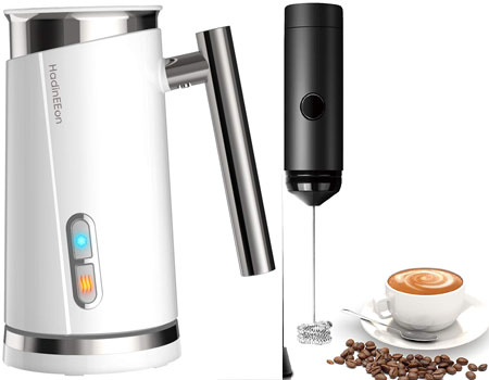 Top 10 Best Automatic Milk Frothers in 2019 Reviews