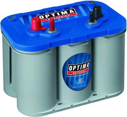 4. Optima Batteries D34M 8016-103 Deep Cycle Marine Battery