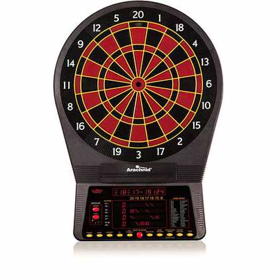 #1. Arachnid Cricket Pro 800 w/Nylon Tough Segments & Micro-Thin Segment Electronic Dartboard