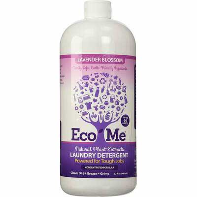 #8. Eco-Me Natural Concentrated Laundry Detergent, 32 Ounce