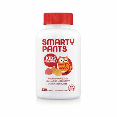 #4. SmartPants 120 Count Kids Formula Daily Gummy Multivitamin Gluten-Free for 30 Days