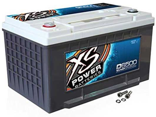 1. XS Power D6500 XS Series 3,900 Amp 12V Output Battery
