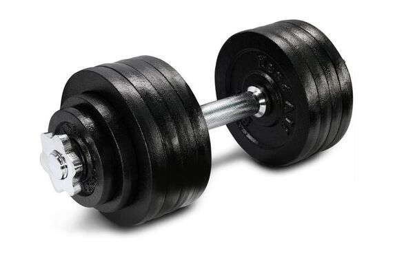 10. Yes4All Versatile Space Efficient Adjustable Dumbbell with Connector Options