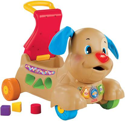 #5. Fisher-Price Laugh and Learn Puppy - Amazon Exclusive