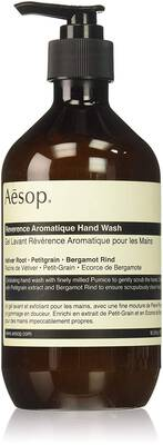 #1. Aesop Reverence Aromatique 16.9 Ounce Hand Wash Liquid