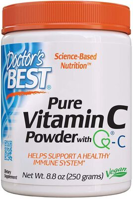 5. Doctor's Best Pure Vitamin C Supplements for Immune system, Heart, Brain, and Eyes