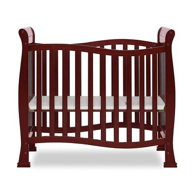 8. Dream On Me Cherry Gold Certified Convertible Crib with 6 Different Finishes