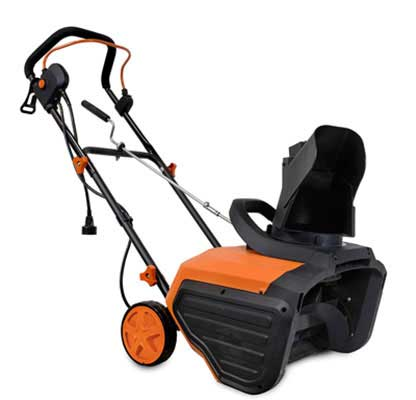 #9. WEN 5662 18'' 13.5 Amp 490 Pounds Snow /Min 6'' Wheels Electric Snow Thrower