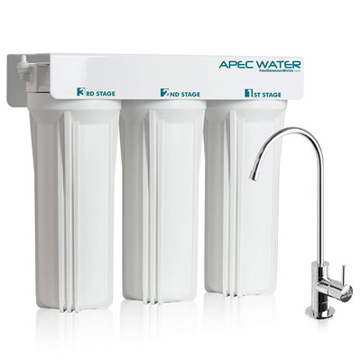 APEC Super Capacity 3-Stage Filter System
