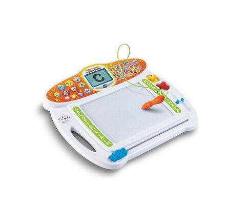 2. VTech Write and Learn Drawing Board Toy for Kids with Musical Drawings and Doddler