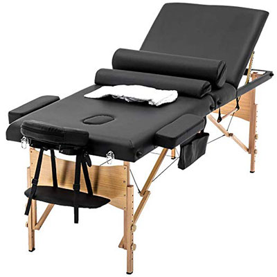 5. BestMassage Portable Table Massage Bed