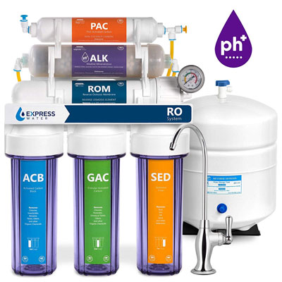 4. Express Water Filtration System with Clear Housing