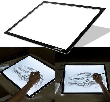 3. Agptek Sketching and Quilting Light Pad for tracing with USB Adapter