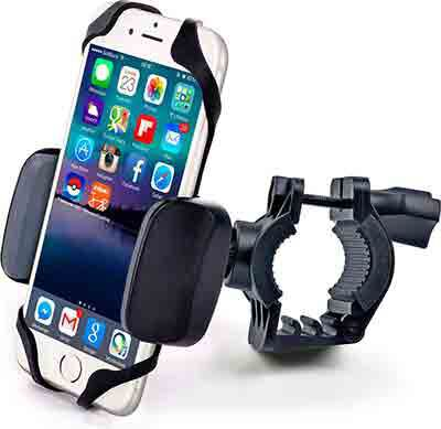 #5. Motorcycle and Bike Cellphone Mount For iPhone 6