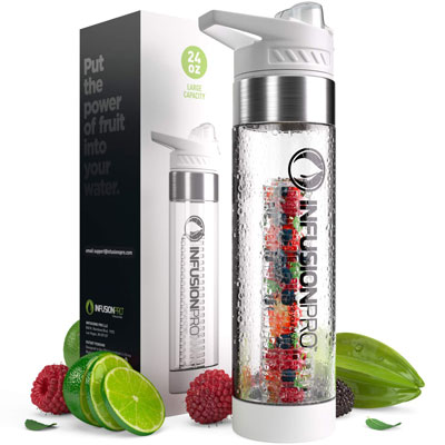 1- Infusion Pro Infused Water Bottle