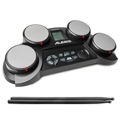 10. Alesis Ultra-Portable Roll up Drum Kit with Drum Sticks Included