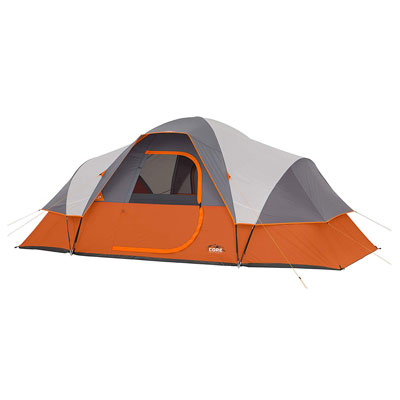 8. CORE 9 Person Extended Camping Tent