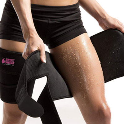 6- By Sports Research - Thigh Trimmers for Women- Comes with a Carrying Bag