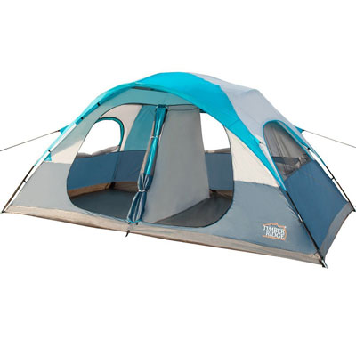 7. Timber Ridge Family Camping Tent with a Carry Bag