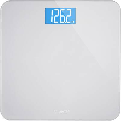 #5. Greater Goods Digital Bathroom Scale, Silver