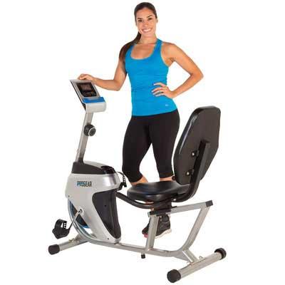 10. PROGEAR 555LXT Recumbent Exercise Bike