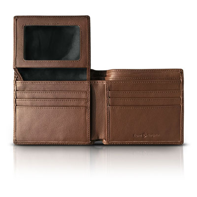5. RFID Blocking Leather Wallet