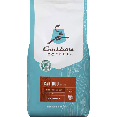 10. Caribou Ground Coffee, Rainforest Alliance Certified