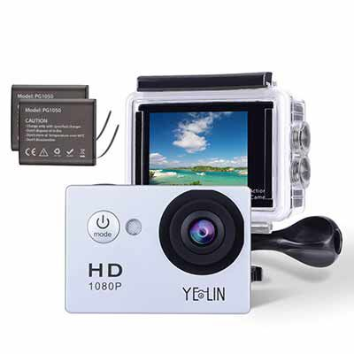 #9- YELIN Waterproof Sports Action Camera