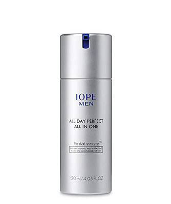 #5. IOPE All-in-1 120ml Anti-Oxidant Function Peppermint Extract Men Skin Moisturizer for Dry Skin