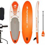 Pathfinder Inflatable SUP Board with a Carry Bag