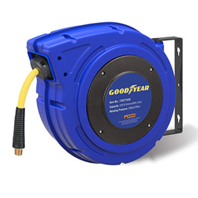 7. Goodyear 27527153G Retractable Air Compressor