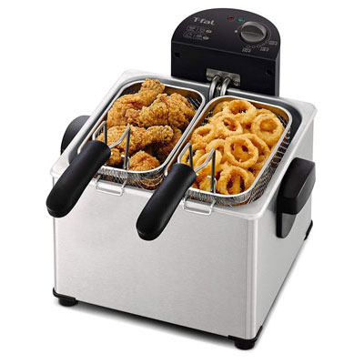 #5. T-Fal FR3900 Stainless Steel Electric Deep Fryer