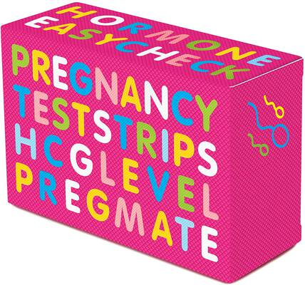 #5. PREGMATE 10 Count 99.8% Accurate & Reliable 25 mlU/ml Home Pregnancy Test Strips