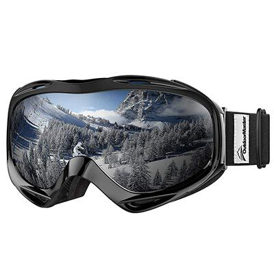 5. OutdoorMaster OTG Snowboard Goggles - 100% UV Protection