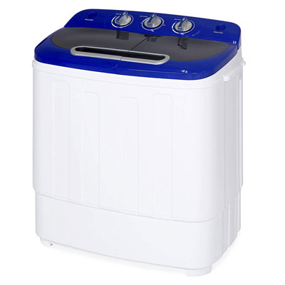 8. Best Choice Products Compact Laundry Washing Machine, 13 lbs. Load Capacity