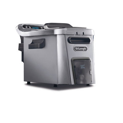 #1. De'Longhi Livenza Stainless Steel Electric Deep Fryer