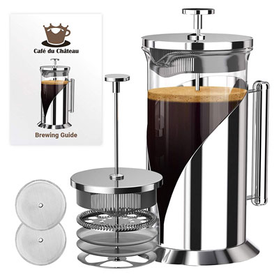 5. Cafe Du Chateau French Press Coffee Maker
