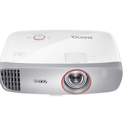 7. BenQ 2200 Lumens Short Throw Home Theater Projector for more Accurate Colors