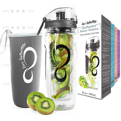 6- Live Infinity Infuser Water Bottle