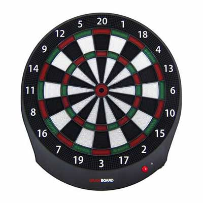 #4. Gran Darts 9 Level of Play Bluetooth Enabled Online Play Top-Notch Electronic Dartboard