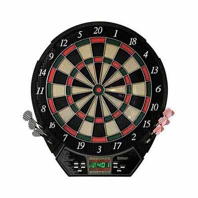 #6. Hathaway Lightweight & Portable LED Display Panel Magnum Electronic Soft Tip Dartboard