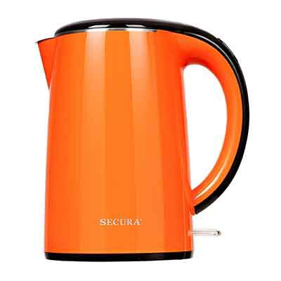 #2. Secura, Original Stainless Steel Electric Kettle