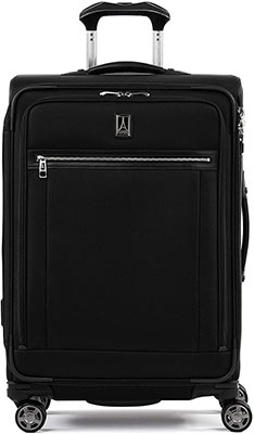 #2. Travelpro Platinum Elite Luggage Contour Grip MagnaTrac Spinner Wheels Suitcase