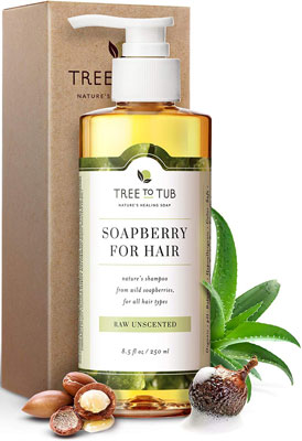 7. Tree to Tub Ultra-Gentle Shampoo - Hypoallergenic and Fragrance-Free Shampoo