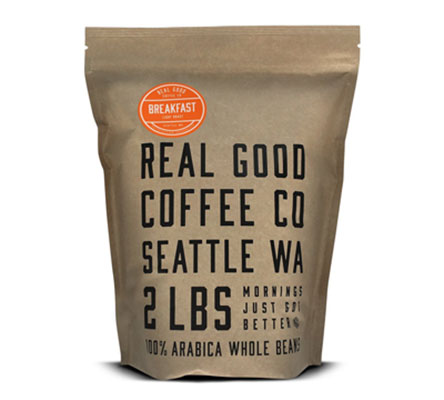 7. Real Good Coffee Company, 2 Pound Bag