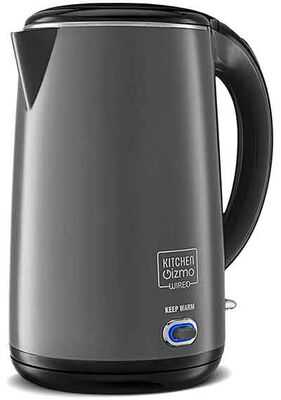 #8. Kitchen Gizmo Stainless Steel Electric Kettle