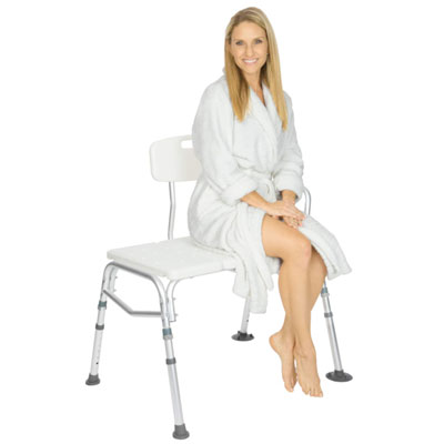 2. Vive Bariatric Shower Transfer Bench - Adjustable Chair for Elderly, Disabled and seniors