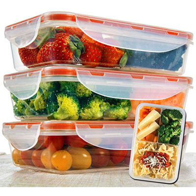 #9. A2S Protection Bento Lunch Box Containers