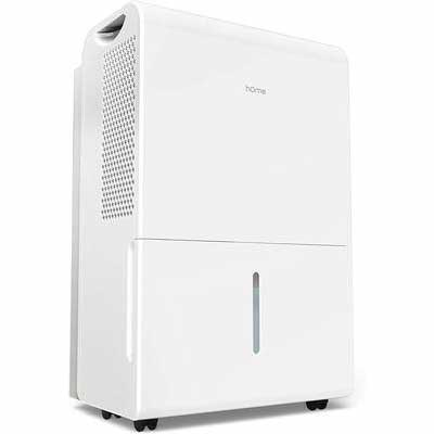 #3. hOmeLabs 3000 Sq. Ft Efficient Energy Star Dehumidifier for Basement and Large Rooms