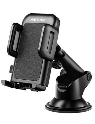 6. Mpow Car Phone Mount One-Touch Design